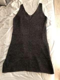 Prada 針織背心(深啡色)