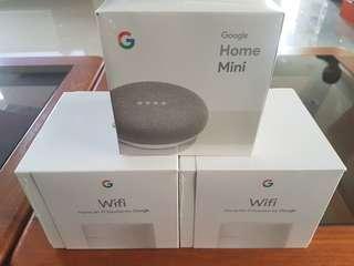 Google home mini google wifi