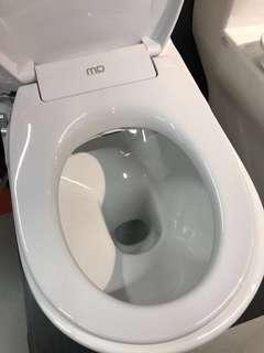 Toilet Bidet with installation