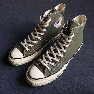 Rare Converse Chuck 70 High Top in Olive Green All Star