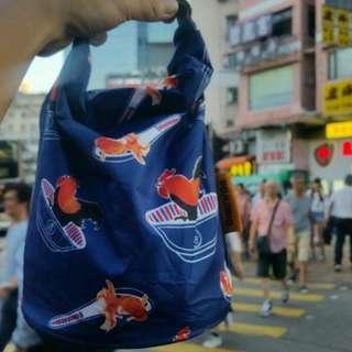 全新限量版 Grab'n'Go by Roll' eat 環保食物袋 公雞款 reusable food bag