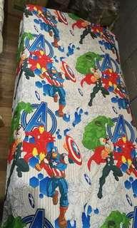 Marvel avengers bed sheet single