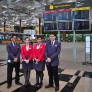 SINGAPORE CHANGI AIRPORT - CHANGI EXPERIENCE AGENT