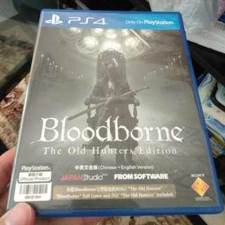 Bloodborne - The Old Hunters Edition 中英文合版