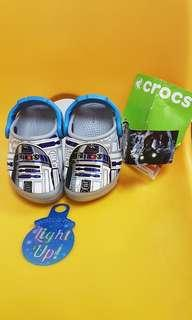 Reduced price [Comes with FREE gift🎁]In Stock Authentic Crocs Star Wars -Grey