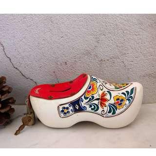🚚 【芭爸時尚生活館】荷蘭鞋 木屐 木鞋 擺飾 存錢筒