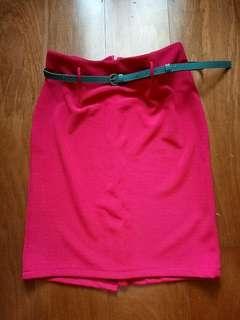 Fuschia Skirt / Rok Fuschia