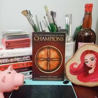 CHAMPIONS: The Lost Chronicles of Eden by Karren Renz Seña