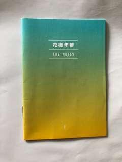 THE NOTES in BTS LOVE YOURSELF: ANSWER F. VER (mini book)