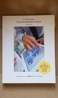 Financial Statements Analysis 教科書
