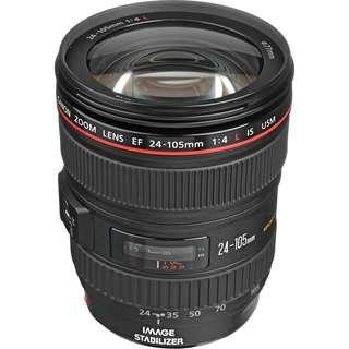 Used Canon 24-105mm f4 L USM IS version 1 to trade with Tamron SP 24-70mm F2.8 DI VC USD (Canon Mount)