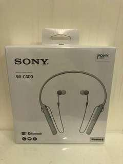 Sony wireless headset WI-C400