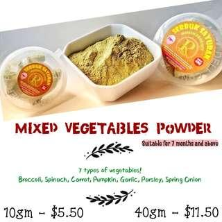 Mixed Vegetables Powder
