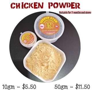 Chicken powder for toddler and babies