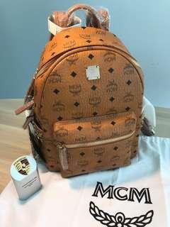 MCM Side Stud Stark Small Backpack