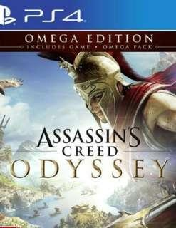 Brand New PS4 R3 Omega Edition Assassin's Creed Odyssey