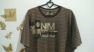Baju Kaos/ T-shirt Coklat
