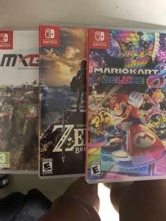 Nintendo Switch Games bundle sale( reserve)