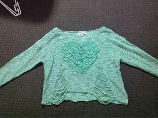 SES Brand Mint Green Sweater