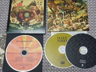 Fleet foxes: helplessness blues & self title album + 1 free CD