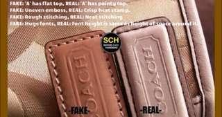 Hati 2 ...  #coach Real and fake