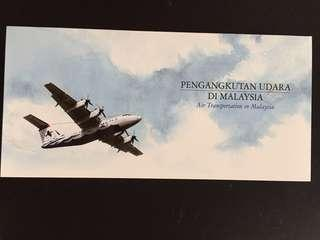2007 Air Transportation in Malaysia Presentation Pack Mint
