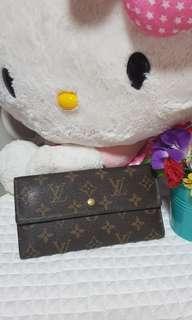 Authentic Louis Vuitton Long Wallet
