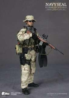1/6 dam toys navy seal riverine ops rifleman