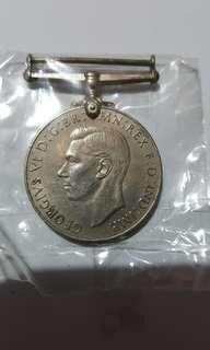 1939 to 1945 silver medal
