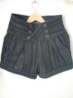 Zara TRF Highwaist short pants preloved