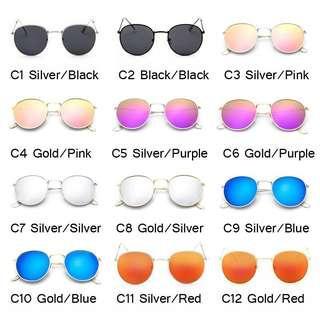 kacamata kekinian lensa logam