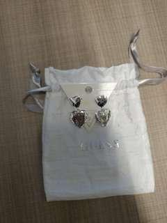 Authentic brand new Guess Earrings