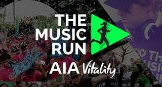 AIA Music Run 5 KM standard tickets