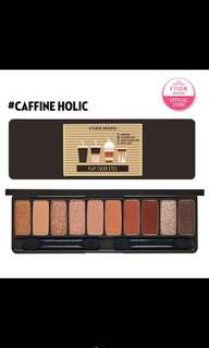 Etude house coffee to go eyeshadow palette play color eyes caffeine holic