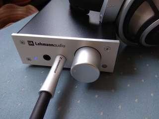 LehmannAudio Linear Class A Headphone Amp