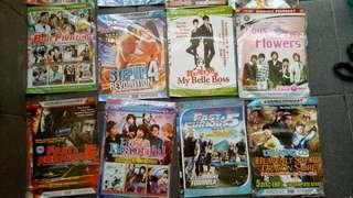 Kaset DVD, VCD, film seri