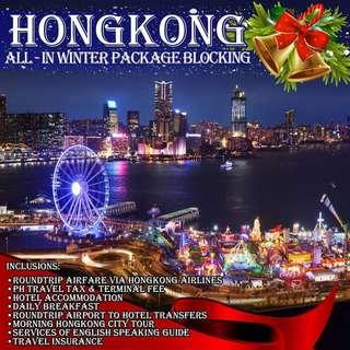 Hong Kong Winter All-In Blockings Via Hong kong Airlines
