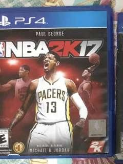 NBA 2K17 PS4 Game