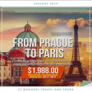 2019 GROUP PROMO PACKAGES JANUARY TO MARCH DEPARTURES)