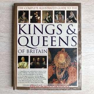 [RARE] The Complete Illustrated Guide to the Kings and Queens of Britain (Dk Publishing) Preloved