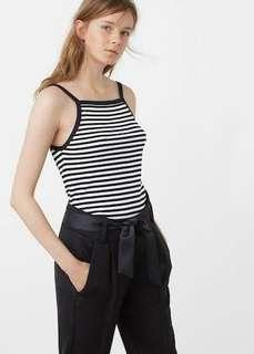 Authentic mango ribbed top