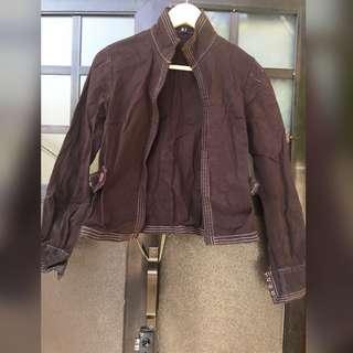 MNG zip up jacket