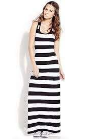 Forever 21 stripped maxi dress