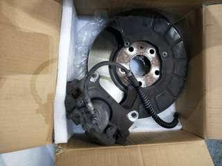 Scirocco stock brake kit