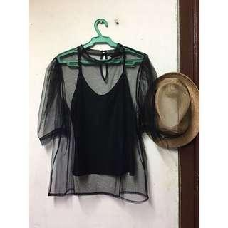 Forme party top (inner included)