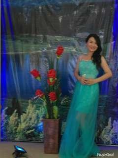 Dress pesta / gaun pesta wanita#oktosale