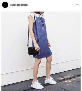 Staple the label pleated dress