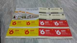 Shell petrol vouchers