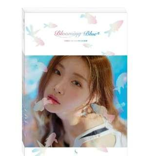chungha blooming blue unsealed album