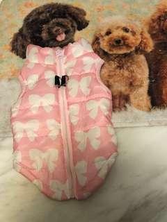 Pet's warm vest